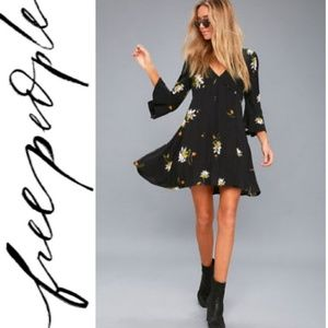 🚨NEW LIST! Free People Floral Wrap Dress